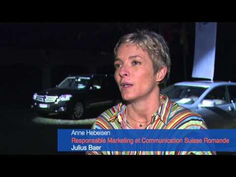Interview de Mme Hebeisen, Directrice Marekting Banque Julius Baer