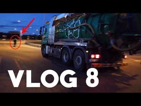 Vlog 8 | Jagad av lastbil & kvällshäng i industri | SSC