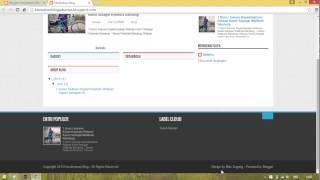 Tutorial Membuat Blog Sampai Memposting Artikel dan Edit HTML dan Template Mp3