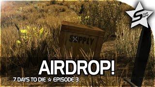 7 days to die xbox one gameplay part 3 airdrop