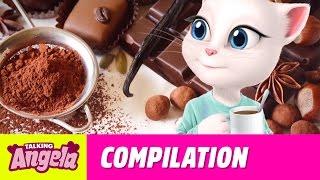 Talking Angela - My Favorite Recipes Compilation