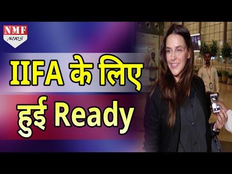 'IIFA Awards 2017' के लिए रवाना हुई Bollywood Actress Neha Dhupia thumbnail