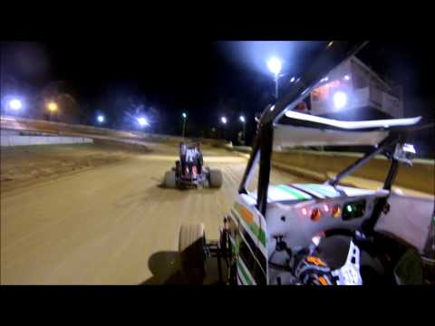 Sidewinder Sprints Wingless Feature #2 @ Shippensburg Speedway 10/18/2014