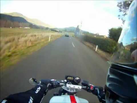 Ride to Hamilton TAS 07072012 - Time Lapse