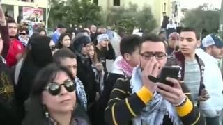 الاف الفلسطينيين يخرجون في مسيرة تندد بسياسة حكومة نتياهو