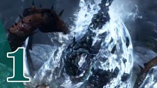 God of War 3 - CHAOS MODE CQB ONLY - #1 POSEIDON