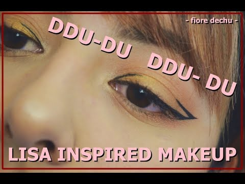 Blackpink 뚜두뚜두 Ddu Du Ddu Du Lisa Inspired Makeup Kenniejd