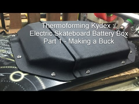 HOW TO: Making a buck for thermoforming - ESKATE Battery Box Part 1