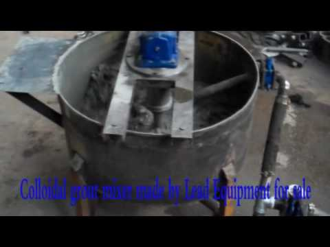 Colloidal Grout Mixer Made By Lead Equipment For Sale