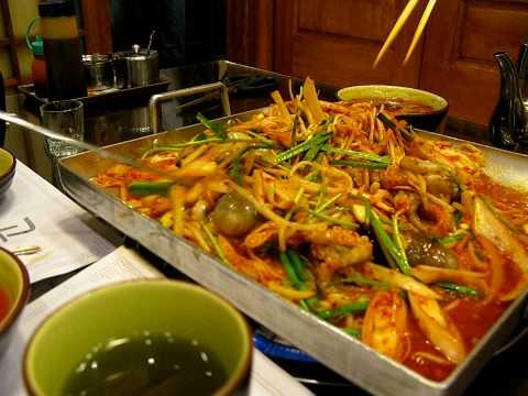 octopus killed in kimchi