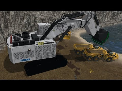 Farming Simulator 17 - Mining And Construction Economy Timelapse Ep#9