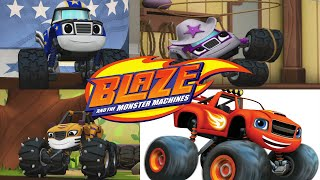 Blaze and the monster machines - Blaze: Race to the Top of the World ( New Nick Jr. Games for kids)