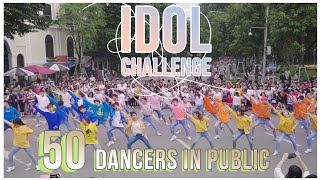 [KPOP IN PUBLIC COLLABORATION] #IDOL CHALLENGE- BTS dance cover by Oops!crew, B-wild&FG from Vie