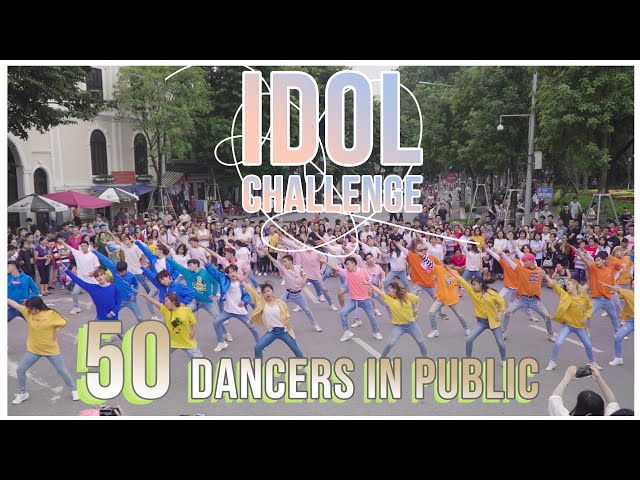 [KPOP IN PUBLIC COLLABORATION] #IDOL CHALLENGE- BTS dance cover by Oops!crew, B-wild&FG from Vietnam