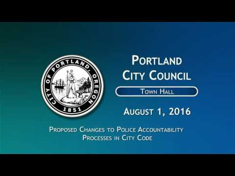 City Council 2016-08-01 Town Hall