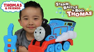 Thomas The Train Engine and Friends Steam Rattle and Roll Remote Control Toy Unboxing Ckn Toys