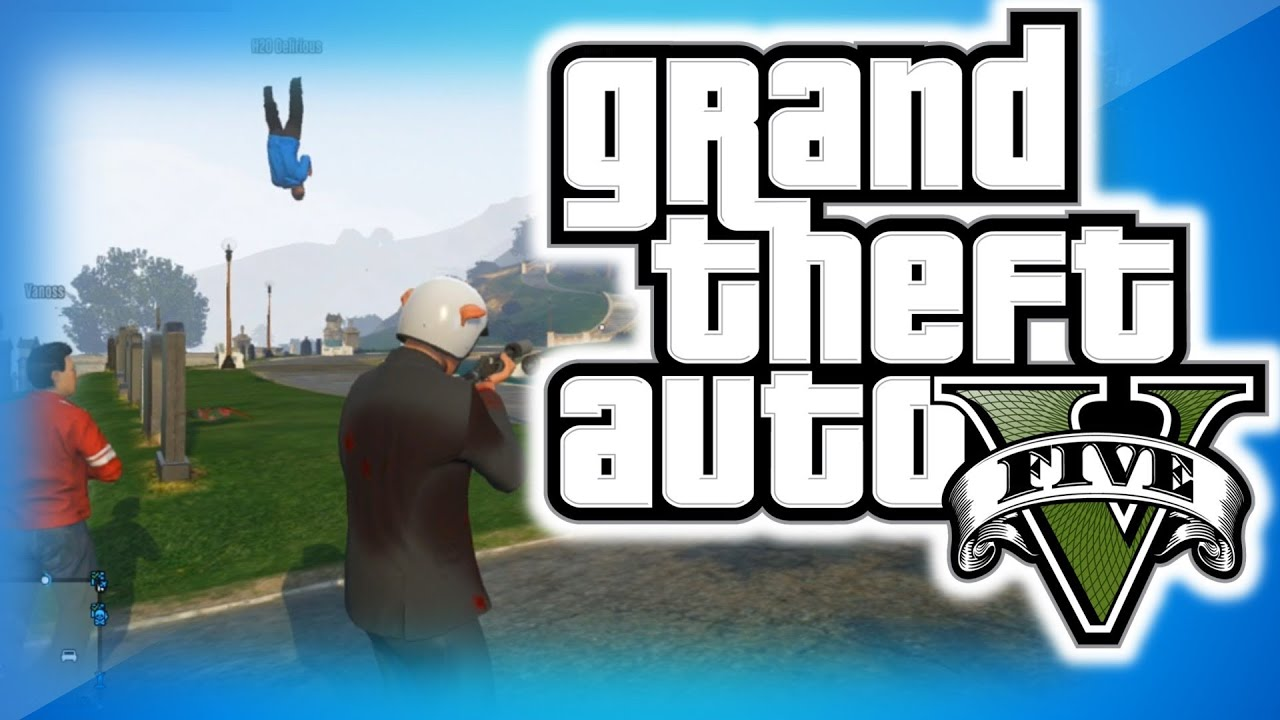 Gta  Online Funny Moments  Shark Eating A Cheeseburger Car Launch Glitch Peanut Butter Jelly Youtube