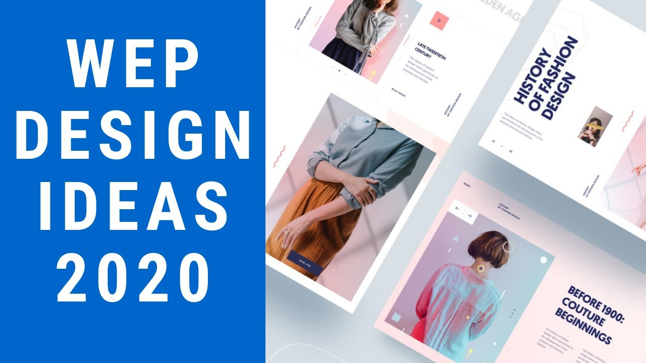 Top 5 Web Design Inspiration Trends 2020 I Responsive Modern Ui Ux Web Design Ideas Youtube
