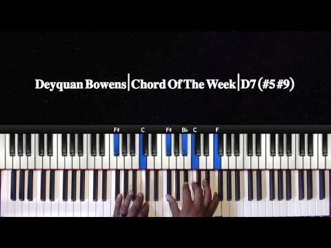 Chord Of The Week D7 #5,#9