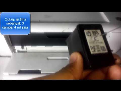 TRIK CARA REFILL TINTA PRINTER HP DESKJET INK ADVANTAGE 1515 || CATRIDGE 678.