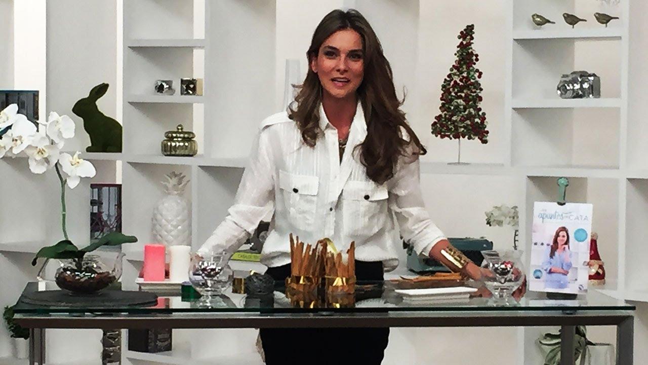 C mo decorar la mesa de navidad de una forma sencilla y for Mesa de navidad elegante
