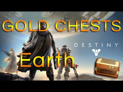 Earth/Cosmodrome Gold Chest