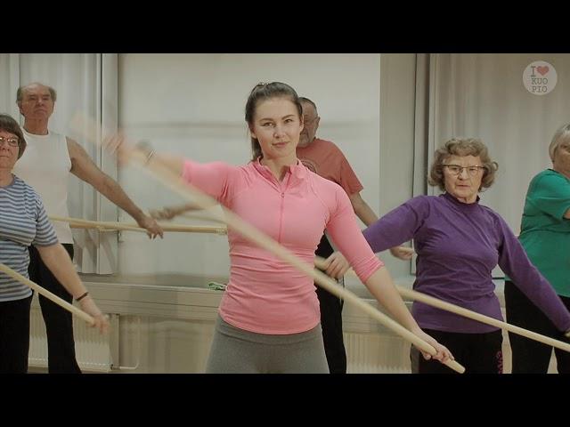 Liikettä niveliin-Keppijumppa: alkulämmittely