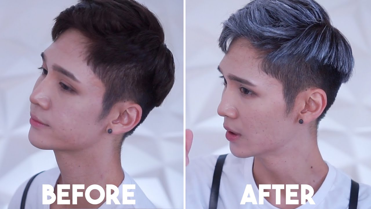 Instant Gray Hair No Bleach No Hair Dye Youtube
