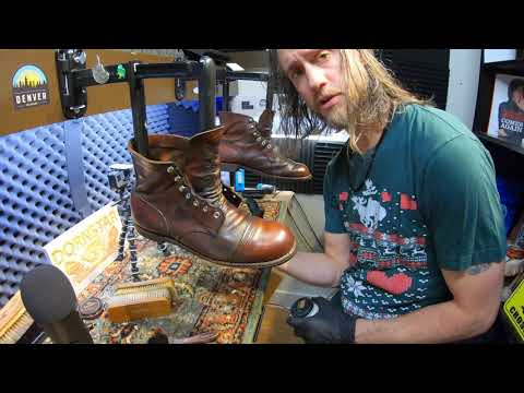 ASMR | REDWING Boots | World's Finest ASMR Shoe Shine