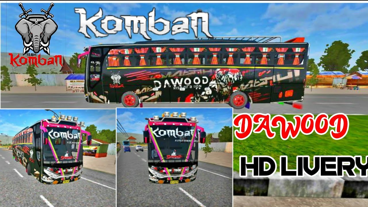 Komban Dawood Hd Livery Download Now Youtube