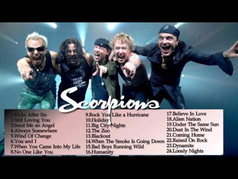 Scorpions Greatest Hits    Best songs Of Scorpions playlist
