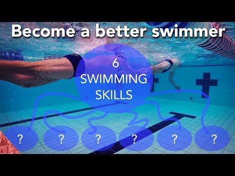 SwImming skills. 6 Hacks for a long successful swim career. How to swim faster.