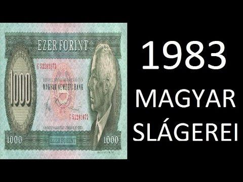 1983 magyar slágerei
