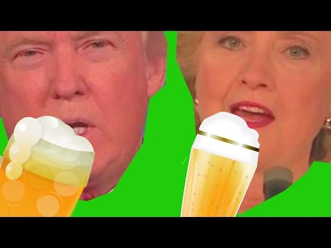 Third Drunk Presidential Debate: Hillary vs Trump