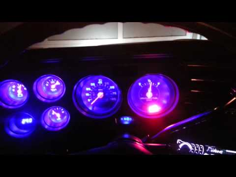 C10 custom dash bezel lighting
