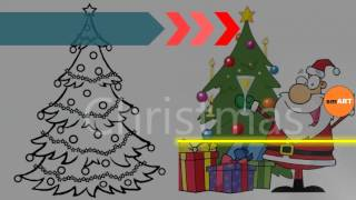 Christmas Tree Clip Art - Christmas Clipart - Christmas Tree Ornaments