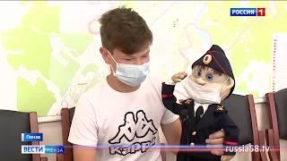 Кукла полицейского Дяди Степы от 12-летнего пензенца отправится в музей
