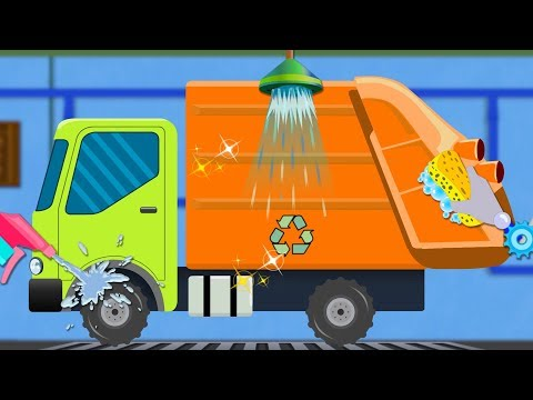 Garbage Truck | Cartoon Video For Children | Car Song For Babies by Kids Channel