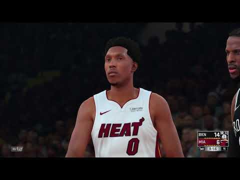 NBA 2K18 Brooklyn Nets vs Miami Heat