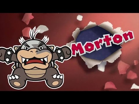 Paper Mario Color Splash: Morton Boss Fight (1080p 60fps)