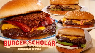 How to Cook 4 More Regional Smashburgers with George Motz | Burger Scholar Sessions