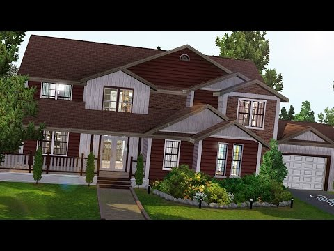 The Sims 3: Speed Build - Redwood Manor