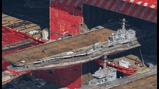 The builder of the China Navy's aircraft carriers has become able to make new, larger carriers