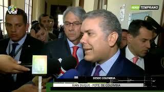Colombia - Duque pidió activar mecanismos para que Venezuela recupere su libertad - VPItv