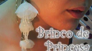 Artesanato passo a passo – Brinco de Princesa