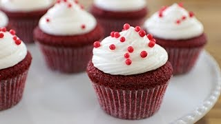 Red Velvet Cupcakes Recipe | How to Make Red Velvet Cupcakes