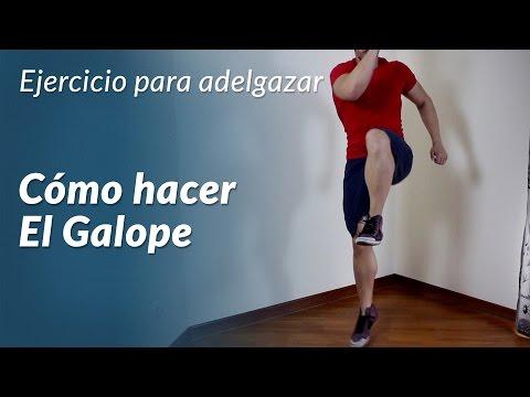 Galope, ejercicio para bajar de peso