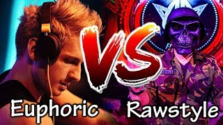 EUPHORIC HARDSTYLE VS RAWSTYLE - Part 2