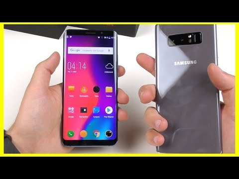 ELEPHONE U PRO    Китайский брат Samsung Galaxy S9