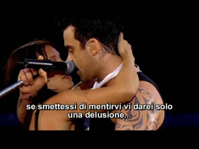 Robbie Williams - Come Undone (Traduzione Ita) HQ